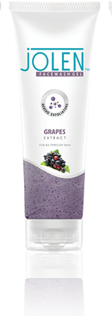 Jolen Facewash Gel Grapes