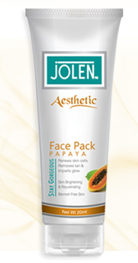 Jolen Face Pack Papaya 50g