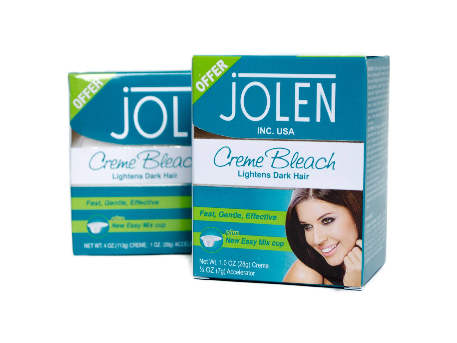Jolen Normal Bleach Creme 35g